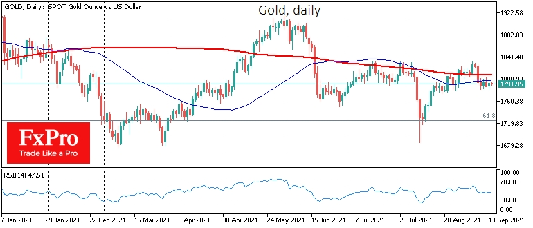 Bears in gold take pause but have not lost control