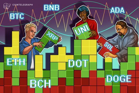 Price analysis 8/20: BTC, ETH, ADA, BNB, XRP, DOGE, DOT, SOL, UNI, BCH