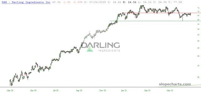 DAR Inc Chart