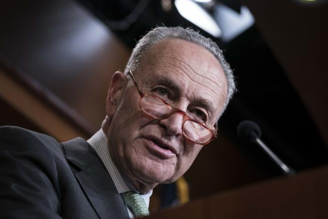 Schumer Heads for Failure on Infrastructure Vote as Talks Drag