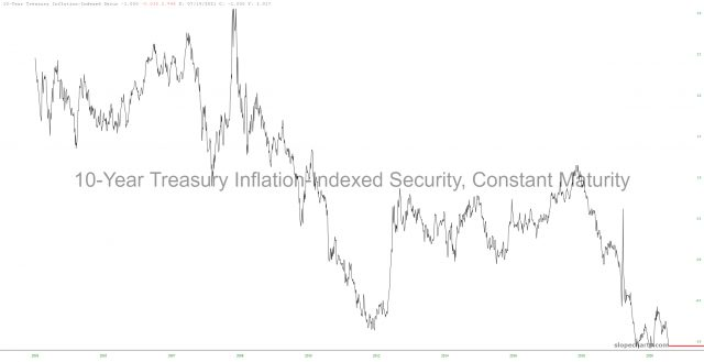 10 Yr Treasury Inflation Indexed Security