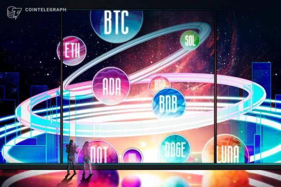 Price analysis 9/15: BTC, ETH, ADA, BNB, XRP, SOL, DOT, DOGE, UNI, LUNA