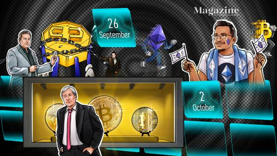 Morgan Stanley acquires more GBTC, Alibaba to halt crypto mining gear sales, and a possible scenario for $6 million BTC: Hodler's Digest, Sept. 26-Oct. 2