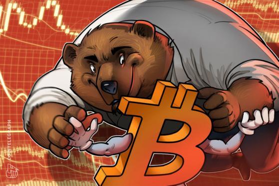 Bad call? Bitfinex bears closed a block of Bitcoin shorts before the drop below $32K