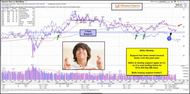 GDXJ Chart.