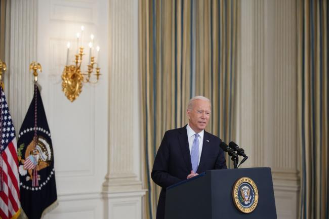 Biden Urges Patience on Economic Agenda as Democrats Quarrel