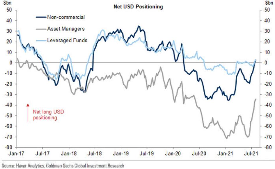 Net USD Positioning.