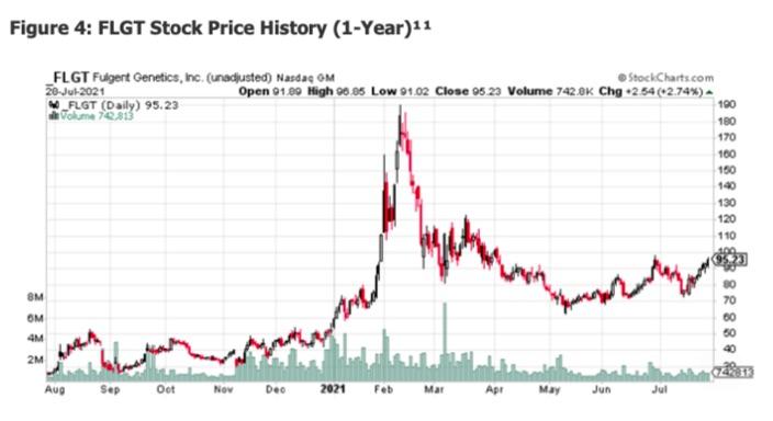 FLGT Stock Price History